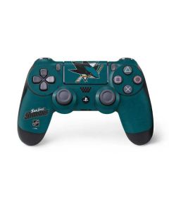 San Jose Sharks Distressed PS4 Controller Skin