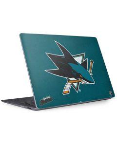San Jose Sharks Distressed Surface Laptop 2 Skin