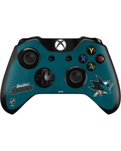 San Jose Sharks Distressed Xbox One Controller Skin