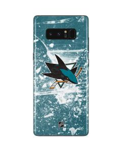 San Jose Sharks Frozen Galaxy Note 8 Skin