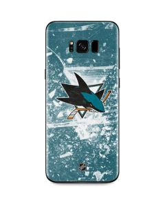 San Jose Sharks Frozen Galaxy S8 Plus Skin