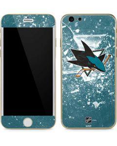 San Jose Sharks Frozen iPhone 6/6s Skin