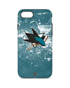 San Jose Sharks Frozen iPhone 8 Pro Case