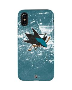 San Jose Sharks Frozen iPhone XS Max Pro Case