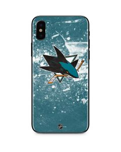 San Jose Sharks Frozen iPhone XS Max Skin