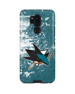 San Jose Sharks Frozen LG G7 ThinQ Pro Case