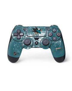 San Jose Sharks Frozen PS4 Controller Skin