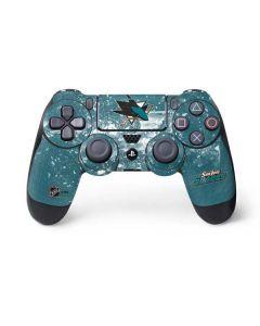 San Jose Sharks Frozen PS4 Pro/Slim Controller Skin
