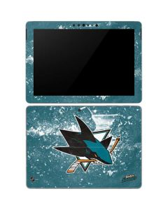 San Jose Sharks Frozen Surface Go Skin