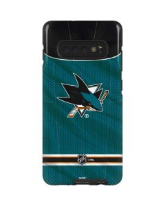 San Jose Sharks Home Jersey Galaxy S10 Plus Pro Case