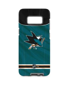 San Jose Sharks Home Jersey Galaxy S8 Pro Case