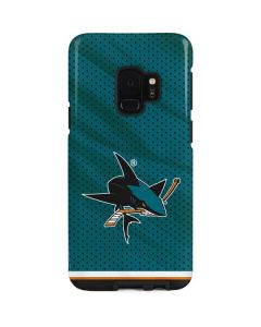 San Jose Sharks Home Jersey Galaxy S9 Pro Case