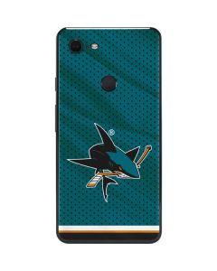 San Jose Sharks Home Jersey Google Pixel 3 XL Skin