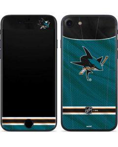 San Jose Sharks Home Jersey iPhone 7 Skin