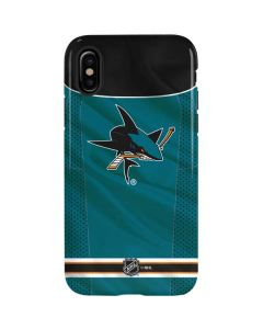 San Jose Sharks Home Jersey iPhone X Pro Case