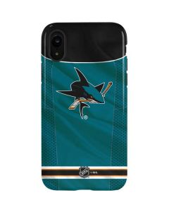 San Jose Sharks Home Jersey iPhone XR Pro Case