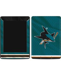 San Jose Sharks Home Jersey Amazon Kindle Skin