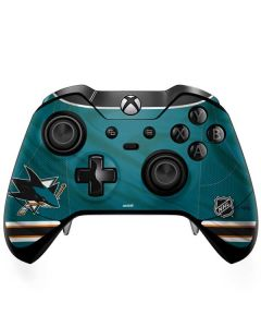 San Jose Sharks Home Jersey Xbox One Elite Controller Skin