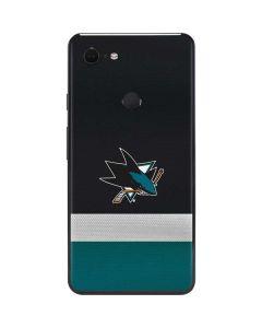 San Jose Sharks Jersey Google Pixel 3 XL Skin