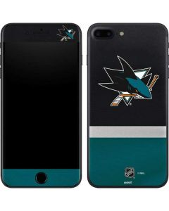 San Jose Sharks Jersey iPhone 8 Plus Skin