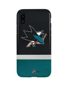 San Jose Sharks Jersey iPhone XR Pro Case