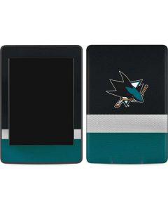 San Jose Sharks Jersey Amazon Kindle Skin