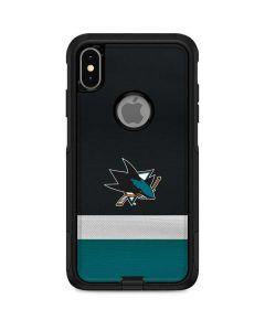 San Jose Sharks Jersey Otterbox Commuter iPhone Skin