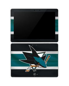 San Jose Sharks Jersey Surface Go Skin
