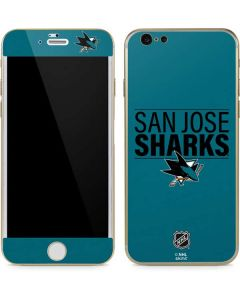 San Jose Sharks Lineup iPhone 6/6s Skin
