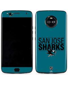 San Jose Sharks Lineup Moto X4 Skin