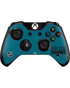 San Jose Sharks Lineup Xbox One Controller Skin
