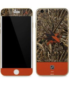 San Jose Sharks Realtree Max-5 Camo iPhone 6/6s Skin
