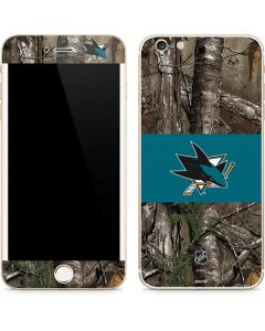 San Jose Sharks Realtree Xtra Camo iPhone 6/6s Plus Skin