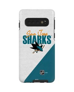 San Jose Sharks Script Galaxy S10 Pro Case