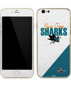 San Jose Sharks Script iPhone 6/6s Skin