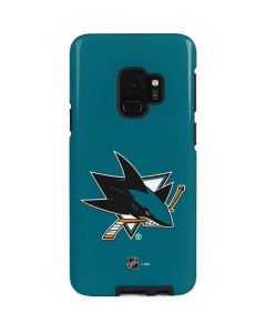 San Jose Sharks Solid Background Galaxy S9 Pro Case