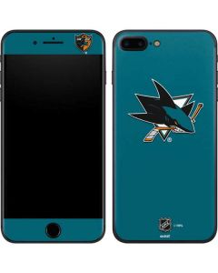 San Jose Sharks Solid Background iPhone 8 Plus Skin