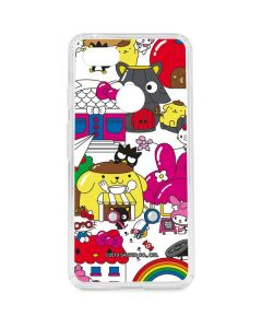 Sanrio World Google Pixel 3 XL Clear Case