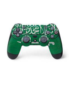 Saudi Arabia Flag Distressed PS4 Pro/Slim Controller Skin