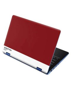 Scarlet Red Aspire R11 11.6in Skin