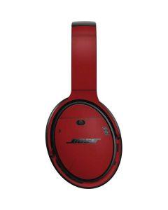 Scarlet Red Bose QuietComfort 35 II Headphones Skin