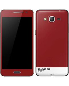 Scarlet Red Galaxy Grand Prime Skin