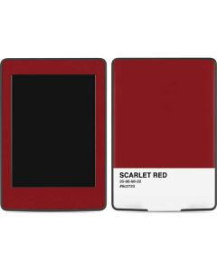 Scarlet Red Amazon Kindle Skin
