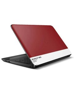 Scarlet Red HP Notebook Skin