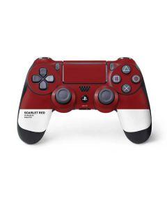 Scarlet Red PS4 Pro/Slim Controller Skin