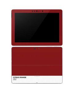 Scarlet Red Surface Go Skin