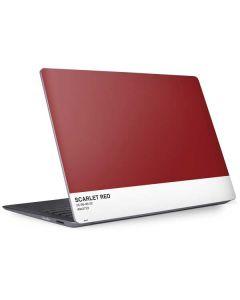 Scarlet Red Surface Laptop 2 Skin