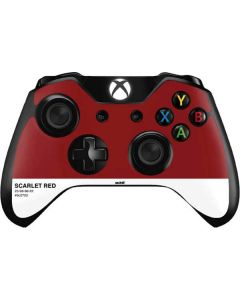 Scarlet Red Xbox One Controller Skin