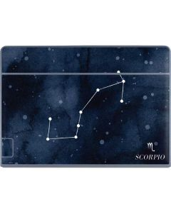 Scorpio Constellation Galaxy Book Keyboard Folio 12in Skin