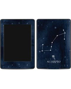Scorpio Constellation Amazon Kindle Skin